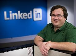  LinkedIn founder and CEO Reid Hoffman expects more growth next year.